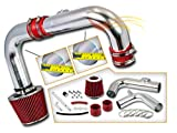 Rtunes Racing Cold Air Intake Kit + Filter Combo RED Compatible For 11-15 Chevrolet Cruze 1.4L Turbo I4