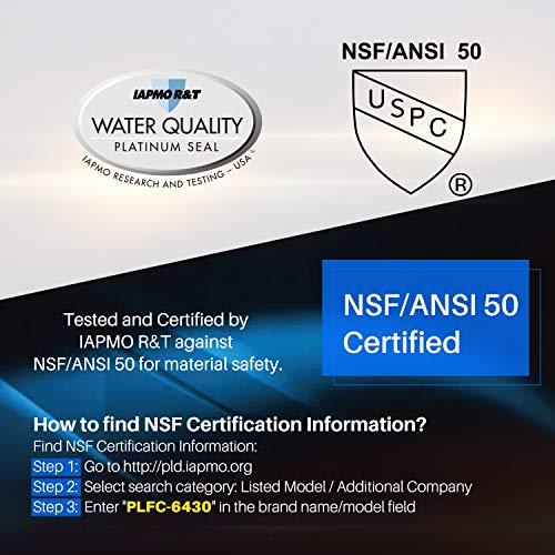POOLPURE NSF-50 Certified Spa Filter Replace Watkins 31489, Pleatco PWK30, Unicel C-6430, Filbur FC-3915, P/N0969601, 71825, 73178, 73250, 75401, 30 sq. ft. Hot Spring Spa Filter, Pack of 2