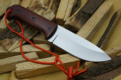 Custom D2 Stahl Bowie Messer Jagdmesser Mit Lederscheide