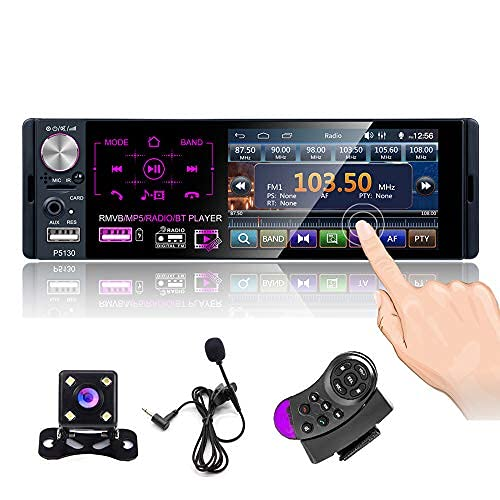 CAMECHO Autoradio Bluetooth 4 '' à écran Tactile...