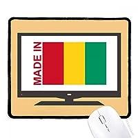 ギニアの国を好みで作られます マウスパッド・ノンスリップゴムパッドのゲーム事務所