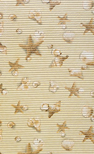 Unbekannt Bodenbelag Aquamatte Weichschaum Badematte Matte Seestern Muschel 130 breit (130 x 250)