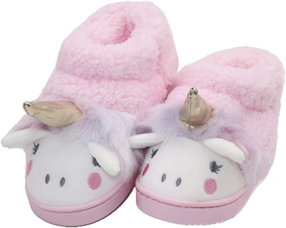 Genuine Girls Home Slippers Manufacturer regenerated product Winter Warm Fur House Cartoon Lined