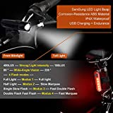 Zoom IMG-2 wotek luci per bicicletta set