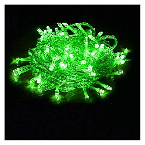 LIFEIYAN LED Fairy String Lights 10m~600m, 8 Modes Wire Lights Dissemble Firefly Rope Lights for Bedroom Wedding Party Indoor Decoration Festoon Lights (Color : Green, Size : 100m2000leds)