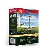 Graminex Hollywood Sun Prämie, Rasen für trockene Standorte, Grassamen mit guter Hitze- und Trockenverträglichkeit, Samenmischung aus widerstandsfähigen Rasengräsern, 1kg für bis zu 40 m2
