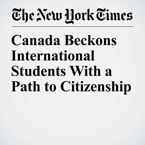 Canada Beckons International Students With a Path to Citizenship copertina