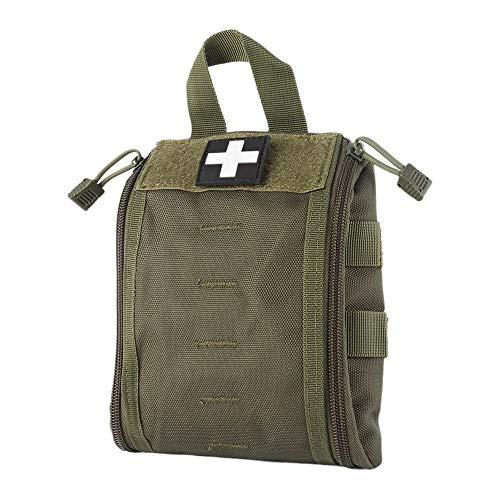 WYNEX Erste Hilfe EMT Taschen, Taktische IFAK Medizinische Molle-Tasche Militär-Utility-Notfall-EDC Taschen Outdoor Survival Kit Anzug Taktischer Taillengürtel Pack 1000 Nylon