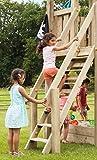 Gartenwelt Riegelsberger Premium Treppe mit Handlauf für kleine Kinder Holztreppe für Spielhaus...