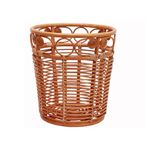 Cesta de mimbre para la colada, cesta de ratán, cesta de almacenamiento de ropa para el hogar, cesta de almacenamiento IKEA, no sauce impermeable cesta de mimbre transpirable