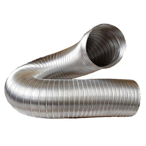 Abluftschlauch, Alu Flex Rohr, Aluminium flexibell Ø 150 mm, 3 m z.B. für Klimaanlagen, Wäschetrockner, Abzugshaube
