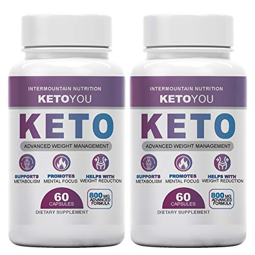 (2-Packs) Ketoyou Keto, Keto You Keto Fuel, Advanced Weight Management,...