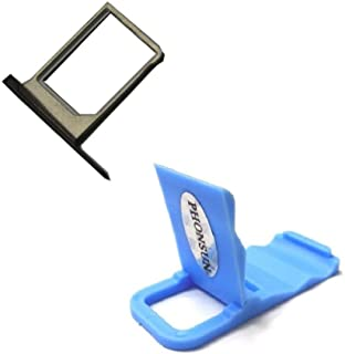 Sim Card Tray for BlackBerry Priv STV100-1 STV100-2 STV100-3 + PHONSUN Portable Cellphone Holder (Sim Tray)