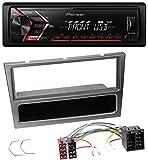 caraudio24 Pioneer MVH-S100UB USB AUX MP3 1DIN Autoradio für Opel