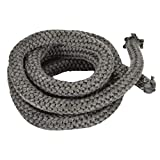 Stanbroil Graphite Impregnated Fiberglass Rope Seal Gasket Replacement for Wood Stoves - 5/8' x 84'