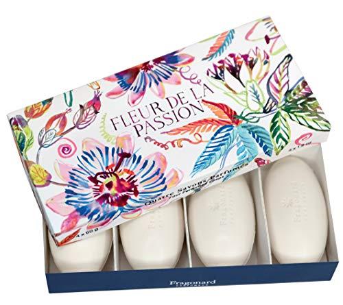 Fragonard Soap Soaps & Shower Fleur de la Passion Perfumed Soap 4x50gr