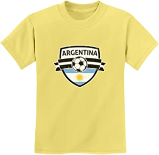 Tstars - Argentina Soccer Team Fans Youth Kids T-Shirt