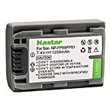 Kastar Battery for Sony NP-FP50 NP-FP51 and Sony DVD HandyCam DCR-DVD105 DVD HandyCam DCR-DVD202E DVD HandyCam DCR-DVD92 Hard Disk Drive DCR-SR100 MiniDV HandyCam DCR-HC18E Camcorders
