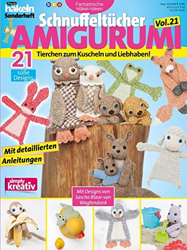 Schnuffeltücher AMIGURUMI Vol. 21.