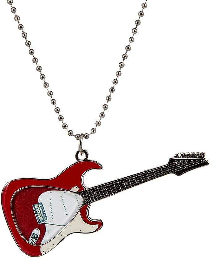 Lynyrd Skynyrd Black Guitar Pick Necklace