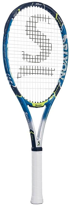 南西侵入放射能SRIXON(スリクソン) [フレームのみ] 硬式テニス ラケット レヴォ CX 4.0 SR21706 シャープブルー