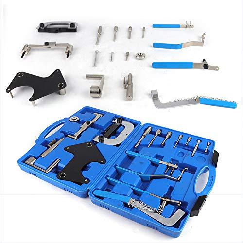 DiLiBee 17PCS Renault Timing Tool Set Zahnriemen-Werkzeug-Arretierwerkzeug Zahnriemen Wechsel und Nockenwellen Volvo/Renault/Opel