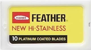 Feather Hi Stainless Double Edge ostrza do golenia, 30 sztuk