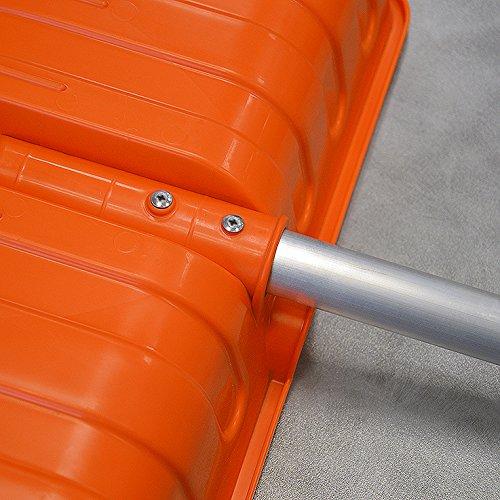 1 x Schneeschieber GRATIS! Doppelpack 2 ergonomische Kunststoff Schneeschieber ARCO 50% Rabatt (Einzelpreis 49,80) - 4