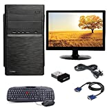 "Intel Core i3 540 Processor, 4GB DDR3 RAM, 500GB SATA HARD DISK, WIFI, KEYBOARD & MOUSE, 15""6 LED MONITOR Operating System and other Drivers: PC Comes with Windows 7; Ultimate MS Office (Trail Version) installed and Ready to Use However, Customer Can..."