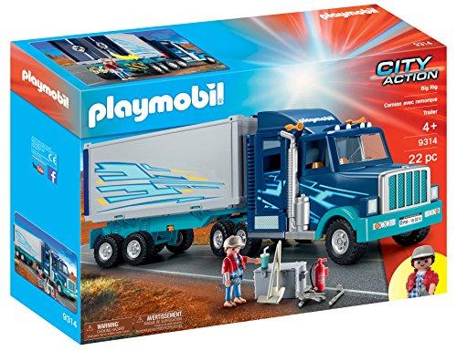 Playmobil City Action - 9314 - Camion Semi Remorque Big Rig