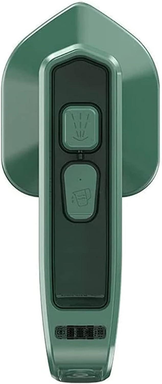 Micro plancha de vapor portátil 2 en 1 de 33 W + máquina de planchar a vapor de mano, mini máquina de planchar, secar la ropa rápidamente, CE / FCC / CCC / PSE