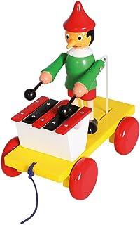 Bino & Mertens 80037 – dragfigur Pinocchio med Xylophon. Den här klassiska retrofiguren fascinerar barn sedan generationer...