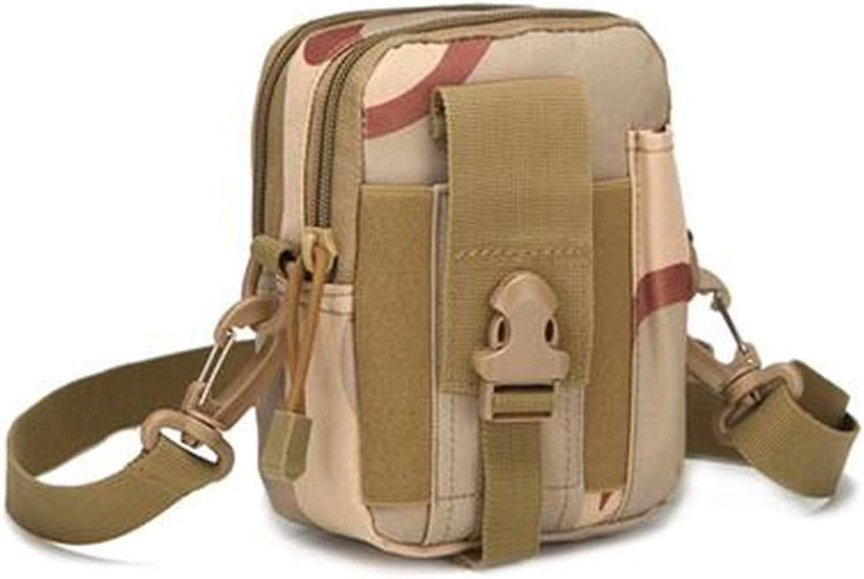 MultiFunction LargeCapacity Casual Pocket Wear Belt Practical WearResistant Waterproof Bag, Sansha Camouflage