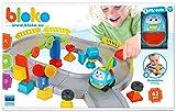 BLOKO Bloko503556 - Bloques de Dientes de construcción en Caja de Circuito de Carreras...