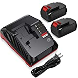 18V Battery Charger PCXMVC PCMVC for Porter Cable Cordless Power Tool Li-ion NiCd NiMh Battery, Upgraded 2...
