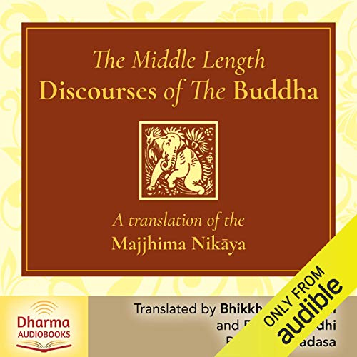 The Middle Length Discourses of the Buddha cover art