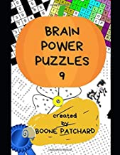 Brain Power Puzzles 9: Over 325 Crosswords, Word Searches, Pictograms, Sudoku, Anagrams, Cryptograms, Math Puzzles, and more