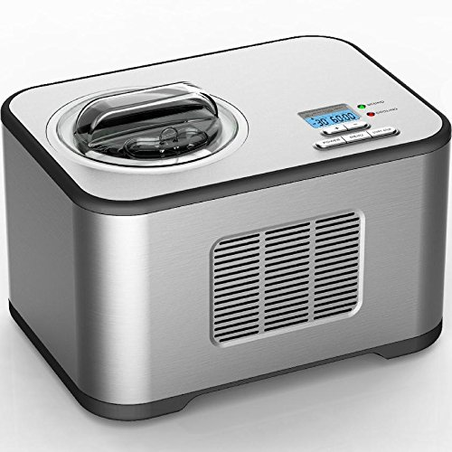 Vollautomatische Eismaschine Edelstahl mit Kompressor Softeismaschine Syntrox