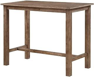 Boraam 75026 Sonoma Pub Table, 36 x 47.25 x 23.75, Neutral Driftwood Gray Finish