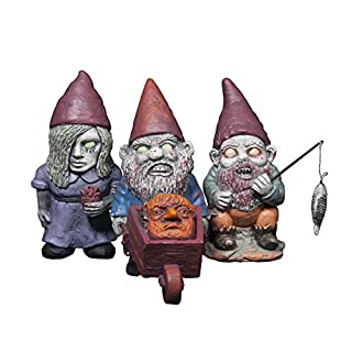 Thumbs Up Zombie Gnomes Weather Resistant