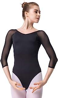 comprar comparacion Maillot de Danza Gimnasia Leotardo Clásico Ballet Vestido para Niñas Mujer
