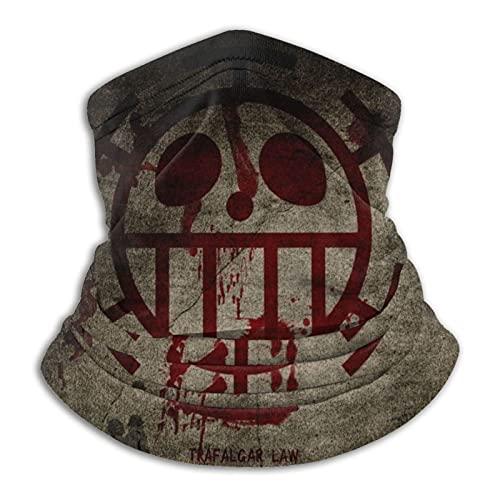 MZZhuBao Dark Pirate Skull – Polaina máscara facial pasamontañas Headwear Bandana a prueba de polvo corte UV calentador de cuello ajustable para hombre mujer negro