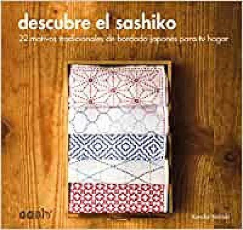 Descubre el sashiko: 22 motivos tradicionales de bordado japonés para tu hogar (GGDIY)