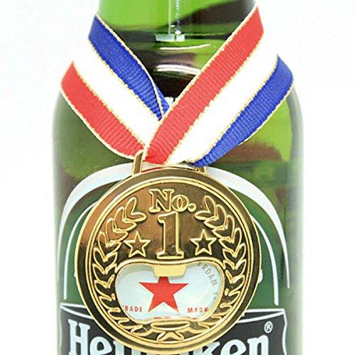 Flying Colourz Médaille d'or de la bière ouvre-Bouteille
