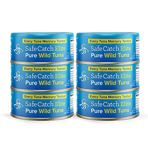 Safe Catch Elite Wild Tuna, 6 Piece