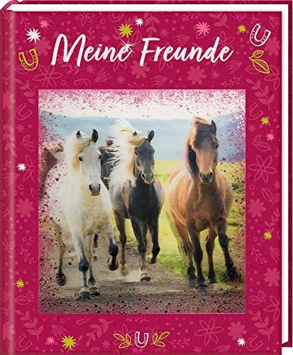 Freundebuch - Pferdefreunde - Meine Freunde: mit 3-D-Bild