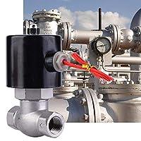 【𝐂𝒚𝐛𝐞𝐫 𝐌𝐨𝐧𝐝𝐚𝒚】電気電磁弁、ステンレス鋼の空気水蒸気のための対面常閉の電磁弁(US / 2L-15 G1 / 2,US / 2L-20 G3 / 4,US / 2L-25 G1)