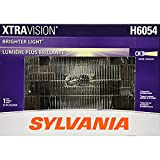 SYLVANIA H6054 XtraVision Halogen Sealed Beam Headlight 142x200, (Contains 1 Bulb) (H6054XV.BX)