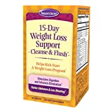 Nature's Secret 15-Day Weight Loss Support & Natural Energy Boost - Cleanse & Flush Stimulates Digestion, Enhances Toxin Elimination & Reduced Bloating with Healing Herbs & Probiotics - 60 Tablets