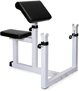 Bench Arm Exercise Bar Dumbbell Biceps For Added Convenience Great Choice Built With Comfort Function And Durability Allowing Arm Work Completed Proper Home Gym Basement Or Garage Institutional Train
